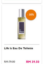 Life Is Eau De Toilette