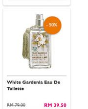 White Gardenia Eau De Toilette