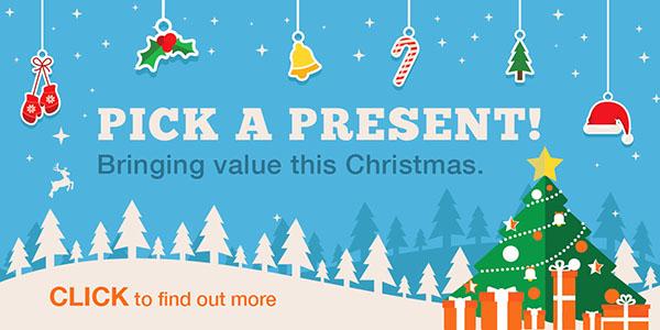 Pick A Present!